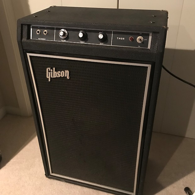 gibson thor vintage bass guitar amp 100 watts 1970s reverb. Black Bedroom Furniture Sets. Home Design Ideas