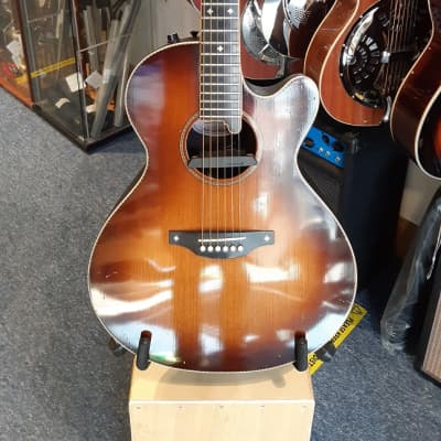 Pilgrim UK Made Bowl-back Electro-acoustic Sunburst for sale
