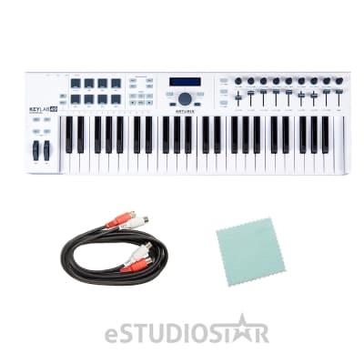 Arturia KeyLab 49 Essential Universal MIDI Controller w/ Cables and Polishing Cloth