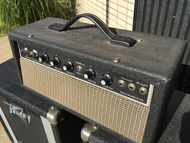 vintage tube amp electric guitar amp head mij japan 5 watt reverb. Black Bedroom Furniture Sets. Home Design Ideas