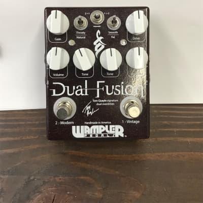 Wampler Dual Fusion Tom Quayle Signature Overdrive