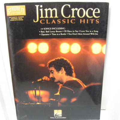 Jim Croce Classic Hits Strum It Guitar Songbook Reverb