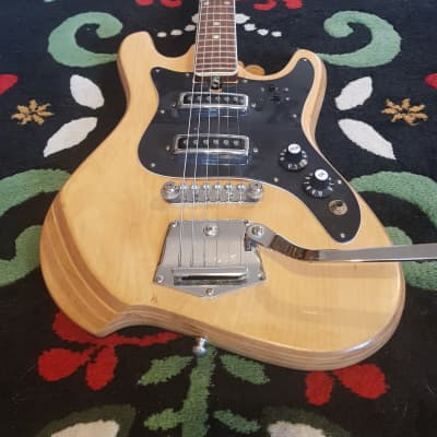 Audition 7002 MIJ 1960's Natural Finish, Teisco, Original Parts for sale