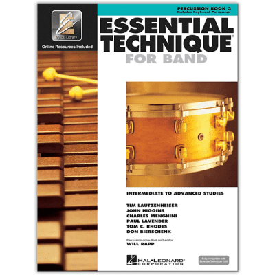 Essential Technique Book 3 - Percussion <HL00862633> Hal Leonard [ProfRev]