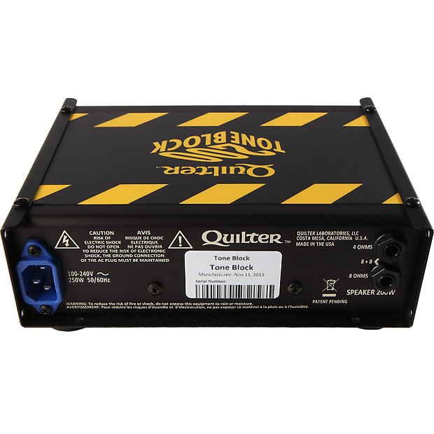 quilter labs tone block 200 stereo rackmount guitar amp head reverb. Black Bedroom Furniture Sets. Home Design Ideas