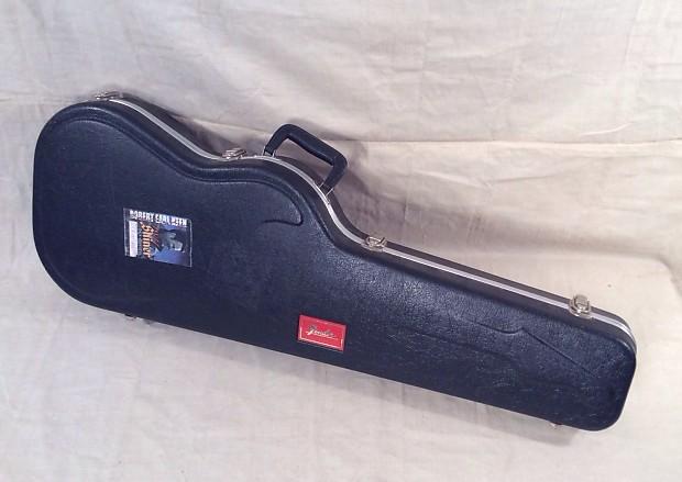 used fender red logo stratocaster telecaster molded plastic reverb. Black Bedroom Furniture Sets. Home Design Ideas