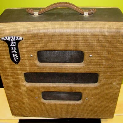 Vintage 1950s Valco Chicago 51 combo, branded Alkire E Harp for sale