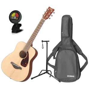 Yamaha JR2 3/4 Scale Folk Acoustic Guitar Bundle