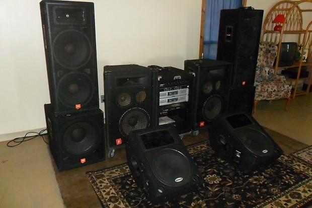 Jbl Sound System 4 Black Reverb