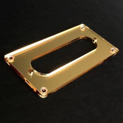 Guitar Parts CONVERSION PICKUP MOUNTING RING Humbucker Single Coil - GOLD MIRROR