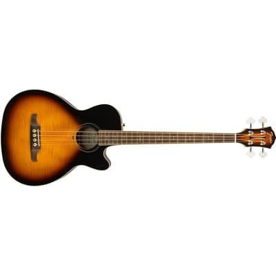 Fender FA-450CE Acoustic Bass, Laurel Fingerboard, 3-Colour Sunburst for sale