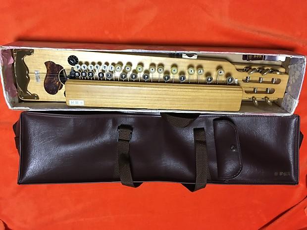 Kindenryu Ginga Electro Acoustic Taisho Koto / Nagoya Harp NEU! Shoegaze!  Krautrock