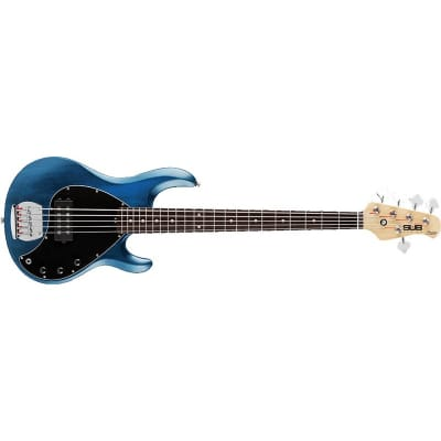 Sterling Ray5 Sub Bass, Trans Blue Satin for sale
