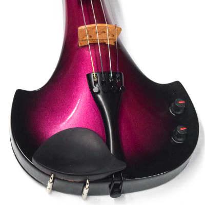 Bridge Aquila Series 4 Electric Violin  Black-Purple