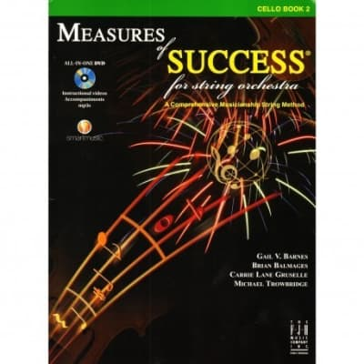 Measures of Success for String Orchestra Method Book 2, Cello