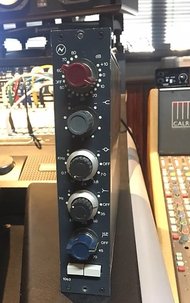 Neve 1063 Preamp & EQ (with DIY Rack) | Lapwing Studio