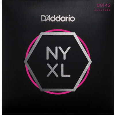 D'Addario NYXL0942 Nickel Wound Electric Guitar Strings, Super Light Gauge