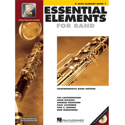 Essential Elements 2000: Comprehensive Band Method - E-Flat Alto Clarinet | Book 1 (w/ DVD & CD)