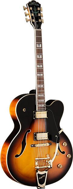 washburn j7 vintage sunburst electric guitar w case free reverb. Black Bedroom Furniture Sets. Home Design Ideas