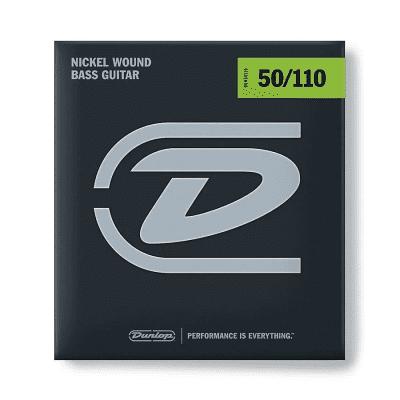 Dunlop DBN50110 Nickel-Wound Stainless Steel Bass Strings (50-110)