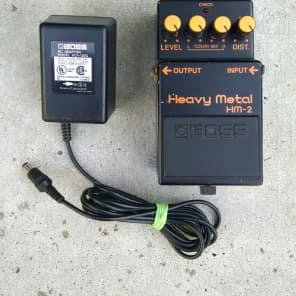 Boss HM-2 Heavy Metal Made in Japan 666 w/ Original Power Supply for sale