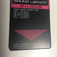 Roland SN-U110-09 PCM Data ROM Card for U-110 U110 Sound Library Card