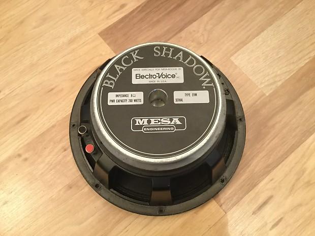 EV Electro Voice EVM-12L Mesa Boogie Black Shadow EVM12L BLACK