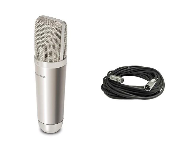 new m audio nova condenser microphone mic recording free reverb. Black Bedroom Furniture Sets. Home Design Ideas