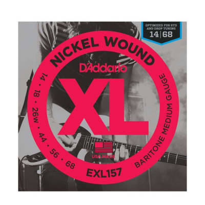 D'Addario EXL157 Baritone Strings