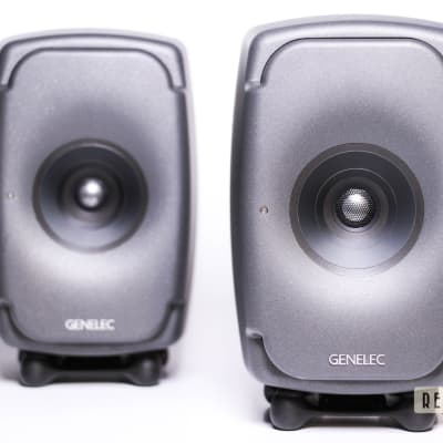Genelec 8331A SAM 3-Way Powered Coaxial Studio Monitor (Pair) 2019 Dark Grey