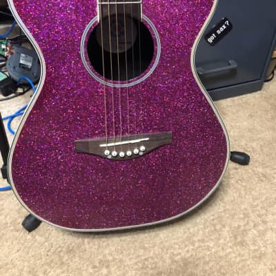 Daisy Rock DR6205 Pixie Concert Pink Sparkle for sale