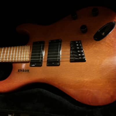 Novax Strat 1991 tobaccoburst for sale
