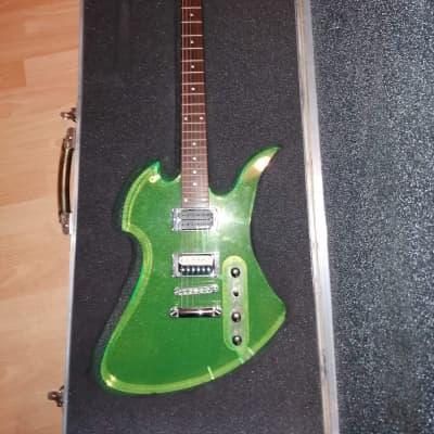 BC rich Mockingbird  Acrylic Green for sale