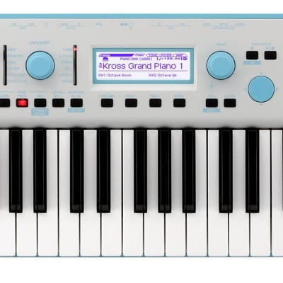 Korg KROSS 2 Special Edition Neon 61-Key Synthesizer Workstation - Blue