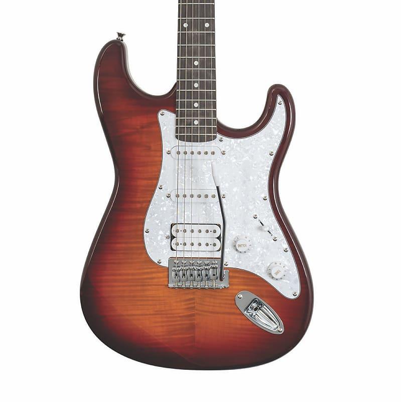 Washburn Sonamaster Deluxe SDFSB-U Electric Guitar in Sunburst