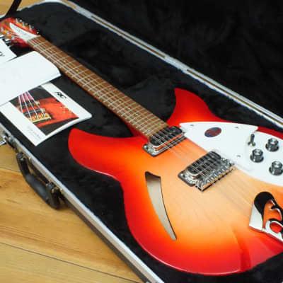 Rickenbacker 330/12 * 12-String 2020 Fireglo for sale