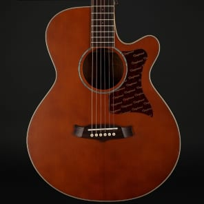 Tanglewood X45-NSE Sundance Performance Pro Solid Cedar/Mahogany Super Folk Cutaway with Electronics Vintage Amber Satin