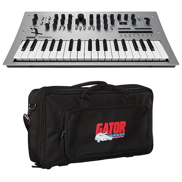 korg minilogue polyphonic analog synthesizer carry bag kit reverb. Black Bedroom Furniture Sets. Home Design Ideas
