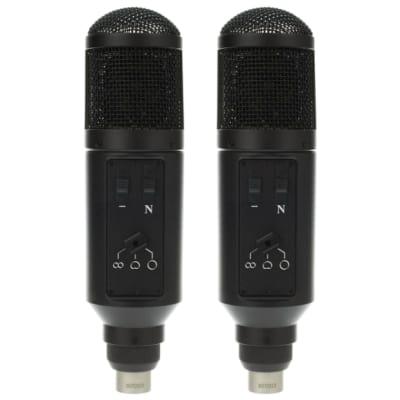 Oktava MC-220 MK-220 Studio Multi-Pattern Large Diaphragm Condenser Microphones Matched Stereo Pair