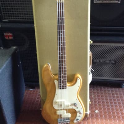 Fender  Precision Bass Elite 1980.s natural for sale
