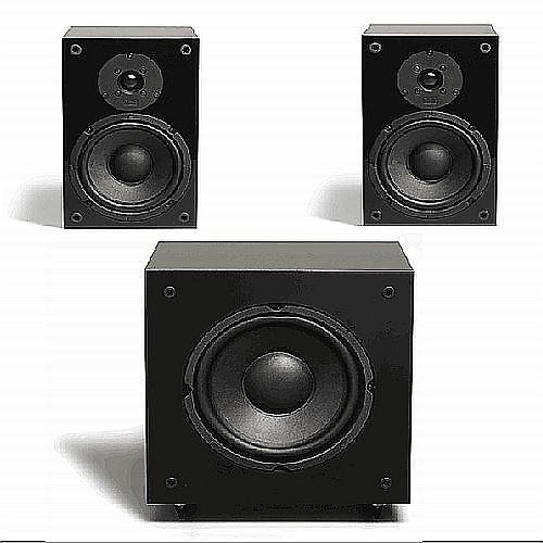 High-Gloss Black or White Single NHT SuperOne Bookshelf Speaker