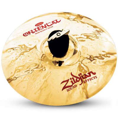 "Zildjian 9"" Oriental Trash Splash Drumset Cymbal with Brilliant Finish A0609"
