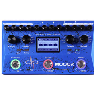 Mooer Ocean Machine, Devin Townsend Signature pedal
