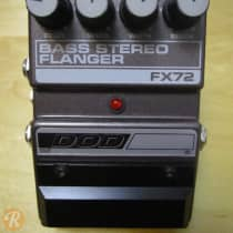 DOD FX72 Bass Stereo Flanger 1980s Brown image