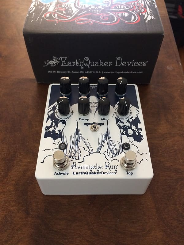 earthquaker devices avalanche run limited edition yeti reverb. Black Bedroom Furniture Sets. Home Design Ideas