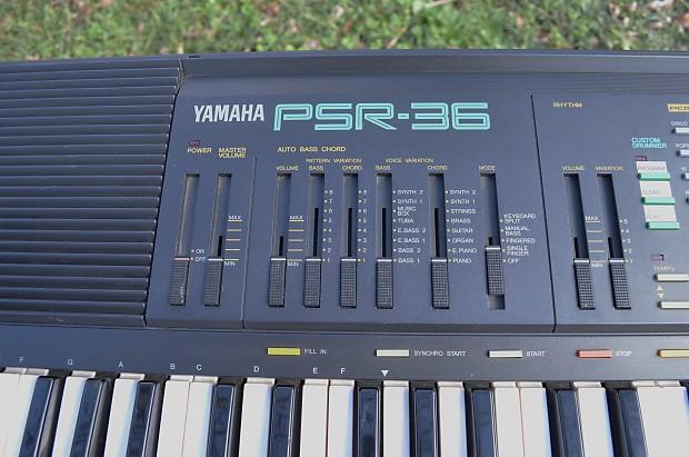 Yamaha Portatone Psr 36 Digital Fm Synthesizer W Power Reverb