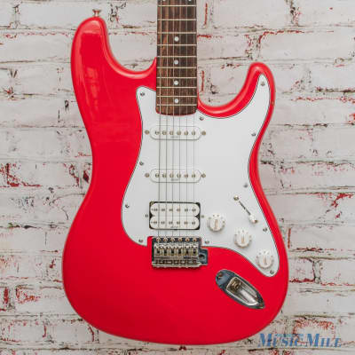 Hondo H77 Electric Guitar Fiesta Red x5977 (USED) for sale