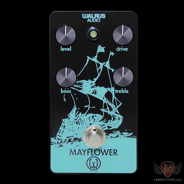 walrus audio custom mayflower overdrive black teal reverb. Black Bedroom Furniture Sets. Home Design Ideas
