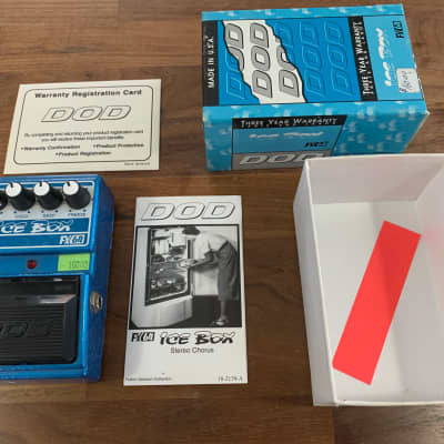 DOD  Ice Box Jason Lamb Chorus  Pedal 1990s  MINT! for sale