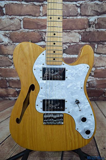 1994 fender japan 39 72 thinline telecaster electric guitar reverb. Black Bedroom Furniture Sets. Home Design Ideas